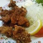 21185853 - 鶏もも肉の唐揚げ、もう一歩