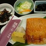 21186960 - 鮭ハラミ白醤油焼御膳 税込1080円