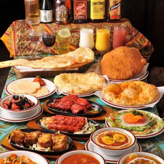 多彩な宴会コースも充実。大満足の食べ飲み放題がおすすめ!