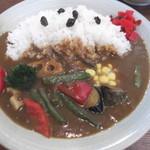 サンマリノ - 野菜カレー。食材も多くて、彩りもキレイ(*^^)v