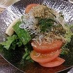 じとっこ組合 - シラスのサラダ