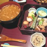 21188034 - 茶粥御膳(2100円)