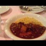 アラビア料理 アルアイン - 本日のメイン、クスクスとタジン料理のビーフ