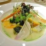 ル・ジャルダン・デ・サヴール - 温野菜のガルグイユ