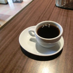 あじ彩 真 - ミニコーヒー