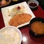 Gaienumaya - 週替り定食(とんかつ)