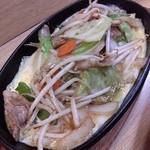 どて八 - 野菜炒め750円