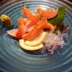 ばんび - 料理写真:金目鯛焼き霜造り780円