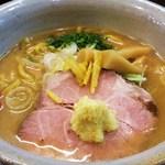 麺屋大河 - 味噌ラーメン680円