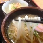 たか屋 - うどんの麺