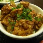 上海台所 - セットの麻婆丼