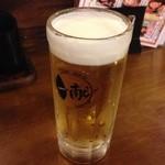 串焼き 一献 - 生ビール