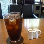 cafe GARDEN - セットのアイスコーヒー