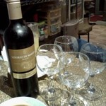 タイレストラン ブアールアン - 4人予約の特典、ワインボトルサービス