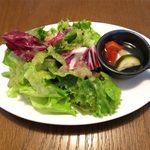 21197162 - サラダのアップ