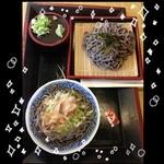 健康の森温泉 - 料理写真:おそば400円♡ざるそば500円♡