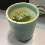 立喰 さくら寿司 - お茶
