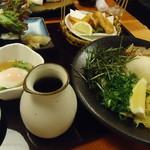 山久 - 夏限定 ぶっかけセット   980円