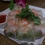 タイレストラン ブアールアン - ・生春巻き