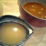 つけ麺屋 やすべえ 下北沢店 - たれ+スープ