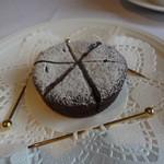 ミッシェル ナカジマ - 特別にお願いしておいたチョコレートケーキ