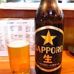 とり長 - サッポロビール[大)580円