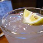 とり長 - レモンサワー400円