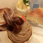 ラ ビッシュ - 料理写真:モンブラン、スフレチーズ、ココパイン、タルトポワール