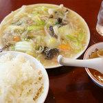 Gansojuuhachiban - 中華うま煮定食