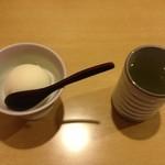 天ぷら割烹 和 - コースはアイスでシメ