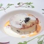 スプレンディード - メイン: カナダ産ロブスターのケーキ仕立て 軽い甲殻類のクリームソース(+¥315)