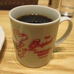 オリジナルパンケーキハウス - ブレンドコーヒー
