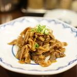 博多麺房 赤のれん - ザーサイ