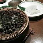 石慶 - ハモ炭火焼き