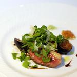 リストランティーノ ルベロ - フランス産マグレ鴨、バルサミコソース