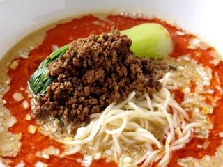 銀座小はれ日より - こだわりの担々麺(おまかせコースの料理例)