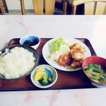 ことぶき食堂 - 料理写真:唐揚げ定食 650円