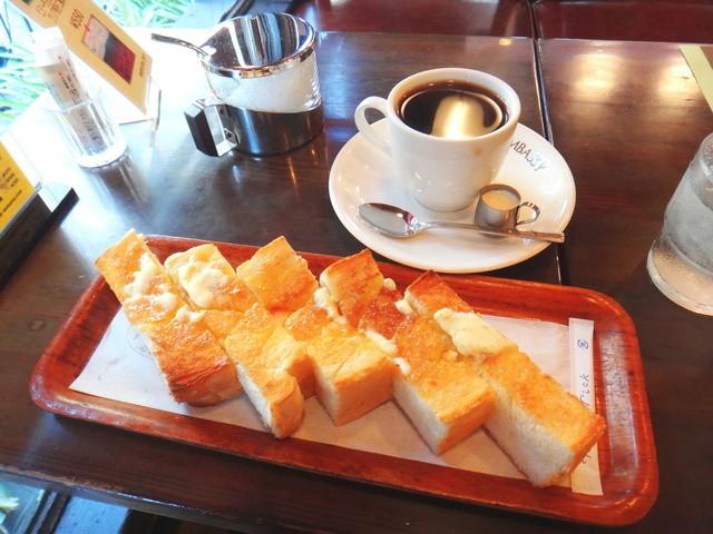 珈琲大使館 新橋店 - 大使館ブレンドとバタートースト