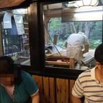 21215142 - 店内からも蕎麦打ち部屋が見れます。