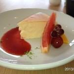 ソラ カフェ - チーズケーキ☆