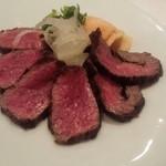鉄板焼き ステーキ 千手 - 前菜
