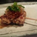 鉄板焼き ステーキ 千手 - 豚肉巻き