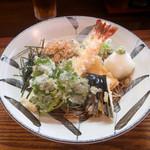 麺 銀三 - 海老おろし蕎麦