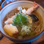 麺 銀三 - 天ぷらそば