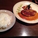 spoon - 岩中豚ステーキとライス
