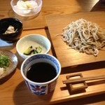 すさかべ庵 - すさかべ庵のざるそば800円(13.06)