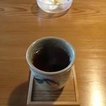 すさかべ庵 - すさかべ庵のお茶(13.06)