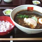 博多 五行 - 初訪問の方は、普通の豚骨やつけ麺より、是非焦がし麺(醤油・味噌)を味わって頂きたいです♪