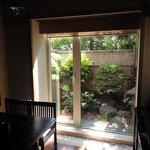 cafe' 喜庵 - 奥の個室。落ち着きます。