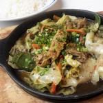 エチオピアカリーキッチン - ☆平日限定☆ポーク野菜カリー\750